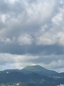 夏の大室山